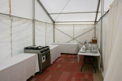 Service tent