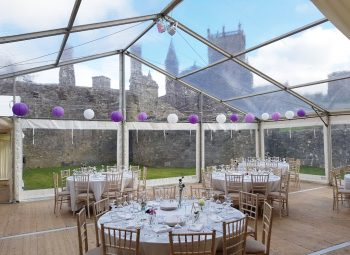 Clear Marquee Roof & Walls